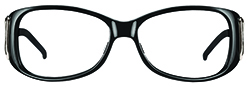 WellnessPROTECT Eyewear - Small Black Frame Only