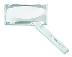 Visomed Biconvex Hand-held Magnifier - 2x